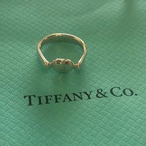 Tiffany & Co. Bean Ring Small Sterling Silver 5